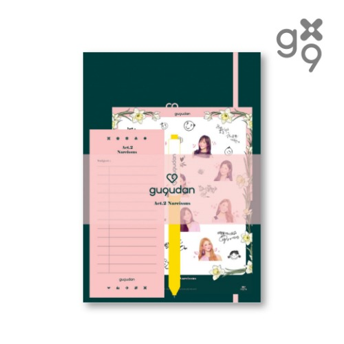 구구단 (GUGUDAN) - [Act.2 Narcissus] - 스테이셔너리세트 (STATIONERY SET)