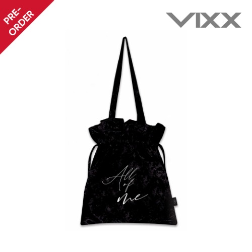 [PRE-ORDER] 빅스 레오(VIXX LEO) - 1st FANMEETING [All of me] - 벨벳 숄더백 (VELVET SHOULDER-BAG)