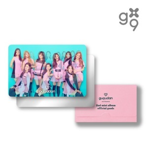 구구단 (GUGUDAN) - [Act.2 Narcissus] - 렌티큘러카드거울세트 (LENTICULAR CARD MIRROR SET)