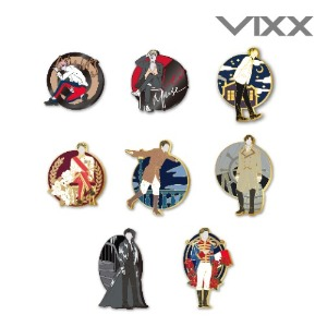 빅스 레오(VIXX LEO) - 1st FANMEETING [All of me] - 금속 뱃지_8 types (METAL BADGE)