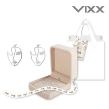 빅스 레오 (VIXX LEO) - 캔버스 [CANVAS] - 귀걸이 (SILVER 92.5 DRAWING EARRING)